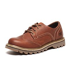 CAT/卡特秋季专柜同款亮棕色牛皮/织物男户外休闲鞋粗犷装备P720569F3BMR18