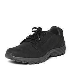 CAT/卡特秋季专柜同款黑色牛皮男户外休闲鞋粗犷装备P720709F3MMR09