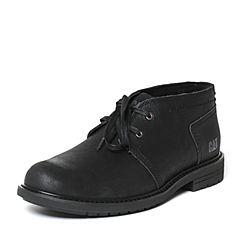 CAT/卡特秋季专柜同款黑色牛皮/织物男户外休闲鞋粗犷装备P720593F3UMR09