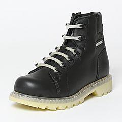 CAT/卡特秋季专柜同款黑色牛皮/织物女户外休闲鞋粗犷装备P308893F3BDR09