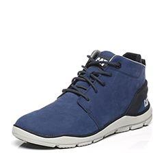 CAT/卡特专柜同款蓝色牛皮/织物男休闲鞋活跃装备(Active)P719721