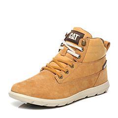 CAT/卡特专柜同款黄色牛皮男休闲鞋活跃装备(Active)P719771