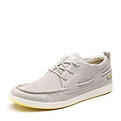 CAT/卡特专柜同款亮灰色织物男户外休闲鞋潮流密码(CODE)P722005G1EMC07