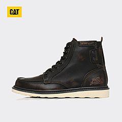 CAT/卡特2017秋冬新款黑色牛皮/牛剖层革男户外休闲鞋P712947G3EDR01