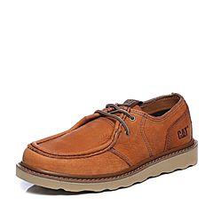 CAT卡特2018春夏季棕色牛皮革男士户外休闲鞋粗犷装备(Rugged)P722179H1BMR36