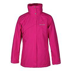 Columbia/哥伦比亚 女新品女三合一防水冲锋衣PL7038684