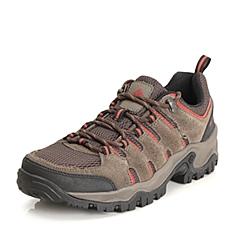 Columbia/哥伦比亚 2015春夏专柜同款 男士卡其色/棕色网面户外徒步鞋YM5143231