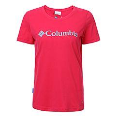 Columbia/哥伦比亚 专柜同款 17春夏新品女子时尚简约LOGO吸湿T恤PL2583600