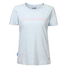 Columbia/哥伦比亚 专柜同款 17春夏新品女子时尚简约LOGO吸湿T恤PL2583984