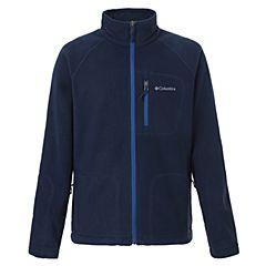 Columbia/哥伦比亚 专柜同款 17春夏新品男子户外保暖开衫抓绒衣外套 AE3039464