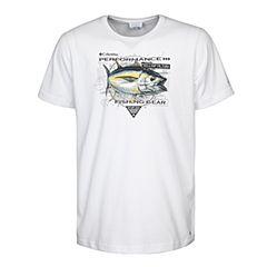 Columbia/哥伦比亚 专柜同款 17春夏新品男子海钓元素印花吸湿T恤PM3703100