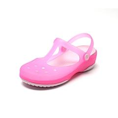 Crocs 卡骆驰 女子  专柜同款 魔术变色卡丽玛莉珍 鹤红色/淡粉 洞洞鞋凉鞋沙滩鞋 12629-69K