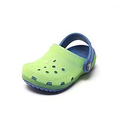 Crocs卡骆驰 儿童  专柜同款魔术变色 小亮澈平底鞋苹果绿/宝蓝 洞洞鞋塑模鞋凉鞋沙滩鞋 12220-367
