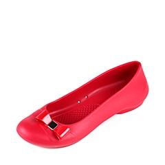 crocs卡骆驰 女子  专柜同款 吉安娜蝴蝶结平底鞋 辣椒红/辣椒红 凉鞋平底鞋沙滩鞋 200871-6HD