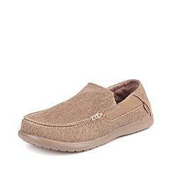 Crocs卡骆驰  男子  专柜同款 圣克鲁兹帆布便鞋二代 卡其/卡其 洞洞鞋 凉鞋 沙滩鞋 202056-261