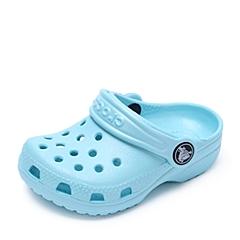 Crocs卡骆驰 儿童 春夏 专柜同款 经典小克骆格 冰蓝 沙滩 旅行 戏水 童鞋 10006-4O9