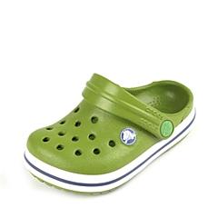 Crocs卡骆驰 儿童 春夏 专柜同款 小卡骆班 鹦鹉绿/白色  沙滩 旅行 戏水 童鞋 10998-34S