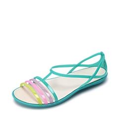 Crocs卡骆驰 女子 春夏 专柜同款 女士伊莎贝拉夏日凉鞋 海岛绿  沙滩 旅行 戏水 凉鞋202465-376