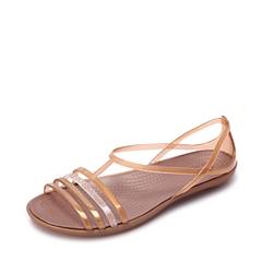 Crocs卡骆驰 女子 春夏 专柜同款 女士伊莎贝拉夏日凉鞋 古铜  沙滩 旅行 戏水 凉鞋202465-854