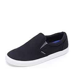 Crocs卡骆驰 男子  专柜同款 男士都会街头男士便鞋 黑色/白色 旅行 便鞋 休闲鞋203401-066