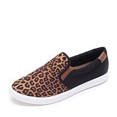 crocs卡骆驰 女子   专柜同款 女士都会街头便鞋 豹纹/黑色 203545-95K