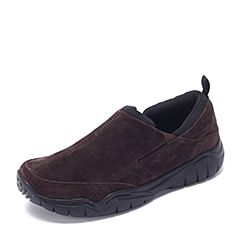 Crocs卡骆驰 专柜同款 秋季男士 激浪睿智墨客鞋  深咖啡/黑色 203568-23K