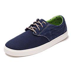 Crocs 卡骆驰春夏季 专柜同款 深蓝/白色男子都会街头帆布系带鞋洞洞鞋 休闲鞋203969-462