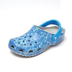 Crocs 卡骆驰 2017年春夏季 专柜同款 珍珠白中性经典水波纹克骆格洞洞鞋 休闲鞋204473-101