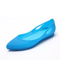 CROCS 卡骆驰春夏季 新款女士芮欧平底鞋海蓝/电光蓝16265-49Z