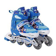 迪士尼Disney轮滑鞋溜冰鞋儿童男女可调旱冰套装滑冰鞋