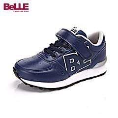 百丽(belle)16年秋冬季新款时尚女中童时尚潮流糖果色彩设计百搭休闲运动鞋DE0173