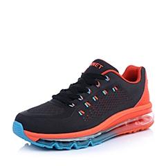 INNET跑步休闲 Cloud 系列橘色网布气垫男运动鞋15010AM5