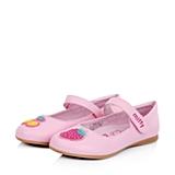 MIFFY/米菲童鞋2015春季新款PU粉色女小童皮鞋DM0285