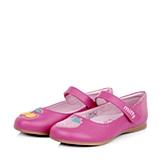 MIFFY/米菲童鞋春季新款PU桃红女小童皮鞋DM0285