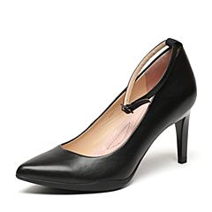 Millie's/妙丽2017春季专柜同款牛皮女单鞋LH907AQ7