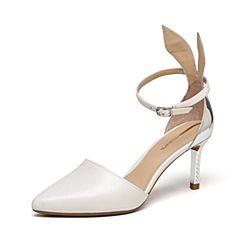 millie's/妙丽春季专柜同款牛皮时尚高跟女单鞋LMQ41AK7
