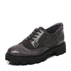 millie's/妙丽秋季专柜同款羊绒低跟女休闲单鞋LM322CM7