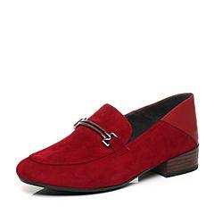 millie's/妙丽秋季专柜同款羊皮低跟女休闲单鞋LM225CM7