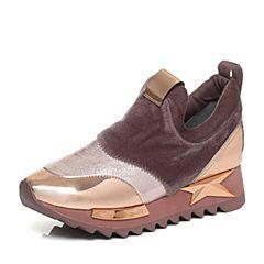 millie's/妙丽秋季新款牛皮女运动休闲鞋LL723CM7
