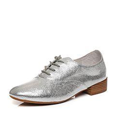 millie's/妙丽春季专柜同款羊皮时尚低跟休闲女单鞋LM222AM7