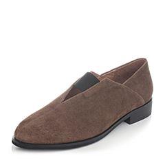 millie's/妙丽秋季新款羊绒低跟女休闲单鞋H1809CM7