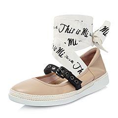 millie's/妙丽2018春专柜同款羊皮时尚平底女单鞋LF316AQ8