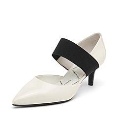 millie's/妙丽2019春专柜同款漆牛皮时尚高跟女单凉鞋LYR03AK9