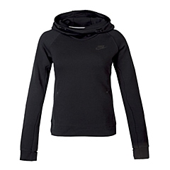 NIKE耐克 新款女子TECH FLEECE HOODIE卫衣/套头衫683799-010