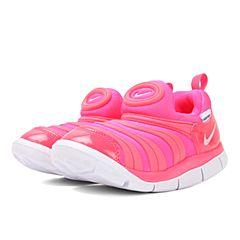 NIKE耐克2017新款NIKE DYNAMO FREE (TD)女小童毛毛虫复刻鞋343938-620