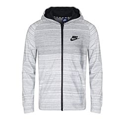 NIKE耐克男子AS M NSW HOODIE FZ AV15 KNIT夹克883026-100