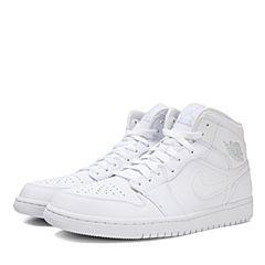 NIKE耐克2018年新款男子AIR JORDAN 1 MID篮球鞋554724-104