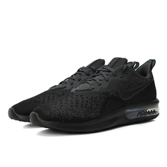 Nike耐克2018年新款男子NIKE AIR MAX SEQUENT 4跑步鞋AO4485-002