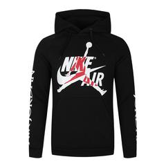 Nike耐克2019年男子AS M J JUMPMAN CLASSICS FLC PO衛衣/套頭衫BV6011-010
