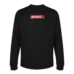 Nike耐克2019年新款男子AS M NSW JDI CRW FLC BSTR套頭衫BV5090-010